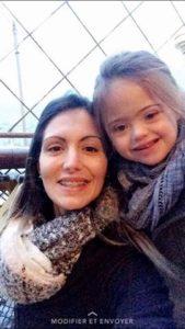 Lyna et sa courageuse maman