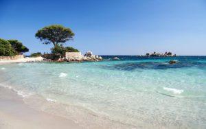 La plage de Santa-Julia en Corse