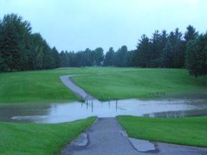 Les inondations sont la première cause de dégâts des golfs