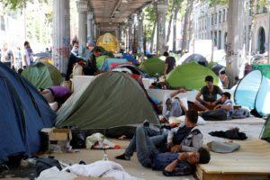 La misère en plein centre de Paris