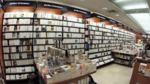 Des livres en librairies