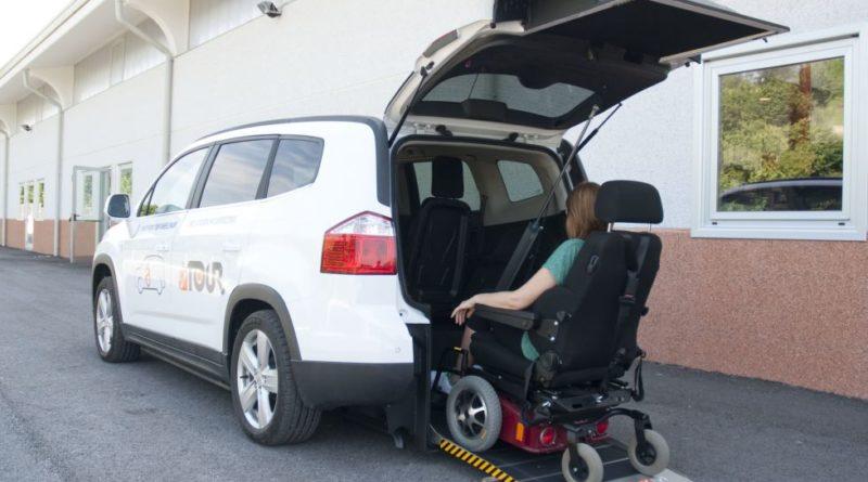Véhicule pour chaise roulante - collecte de dons