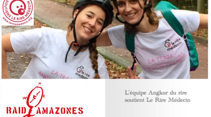 Soutenez Chloé et CHarlène dans leur Raid Amazone 2018 au Cambodge