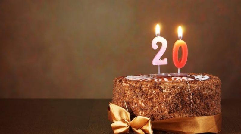 Cagnotte en ligne anniversaire 20 ans pas chère
