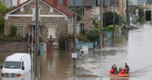 Les inondations touchent de plus en plus de Français