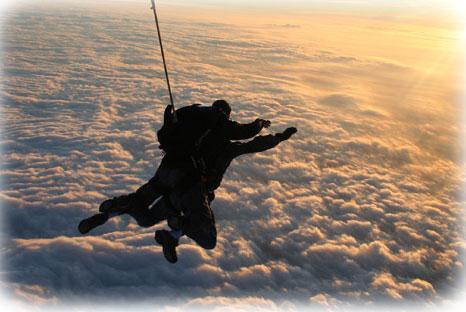Cagnotte en ligne saut en parachute anniversaire