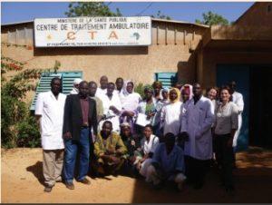 Le centre de traitement ambulatoire de Niamey financé par Entraide Santé 92