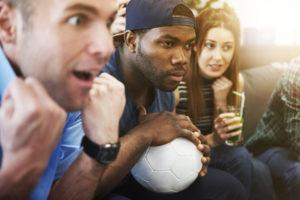 Cagnotte en ligne match de football