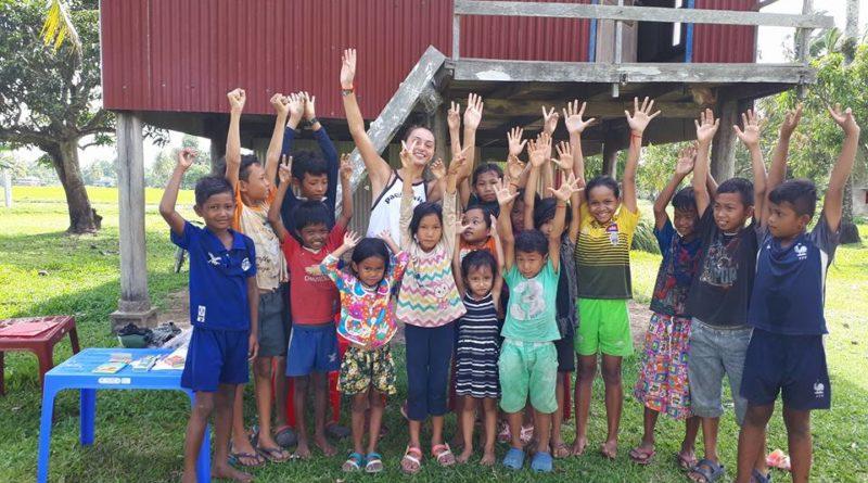 Le centre socio-éducatif Au delà les rizières à O Krassor près de Tep au Cambodge