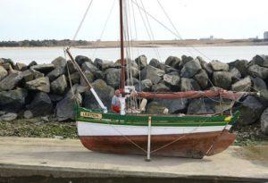 L'association Les Vieux Gréements du Port du Plomb avait redonné une seconde jeunesse au Frépat