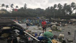 Aidons les populations touchées par le Typhon Mangkhut