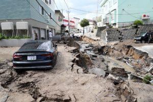 Le dernier séisme à Hokkaido a été très violent