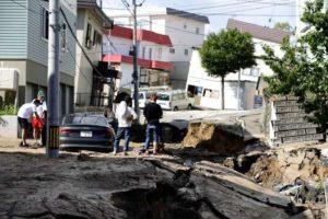 Le séisme à Hokkaido a causé la mort de 11 personnes et de nombreux dégâts