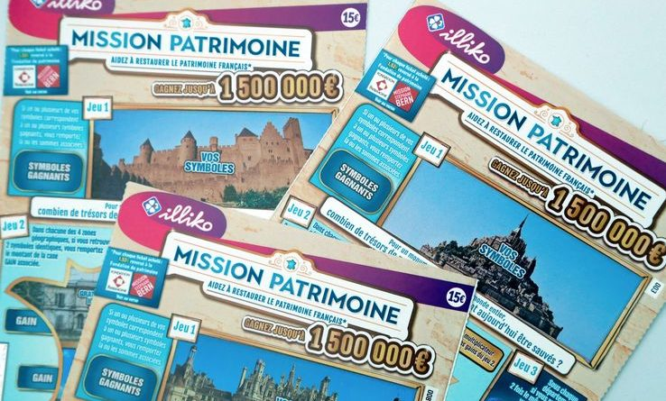 Le Ticket Mission Patrimoine et le loto du patrimoine vont financer sa restauration