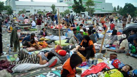 Séisme et tsunami ravage l'île des Célèbes