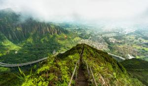 Hawaii, l'île d'Oahu, lieu de leur rencontre
