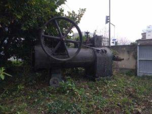 Leur dernière machine à vapeur
