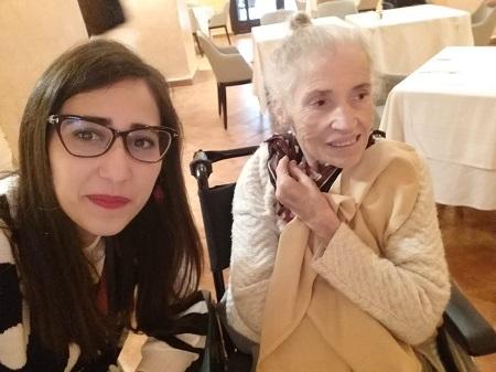 Nadia et sa maman