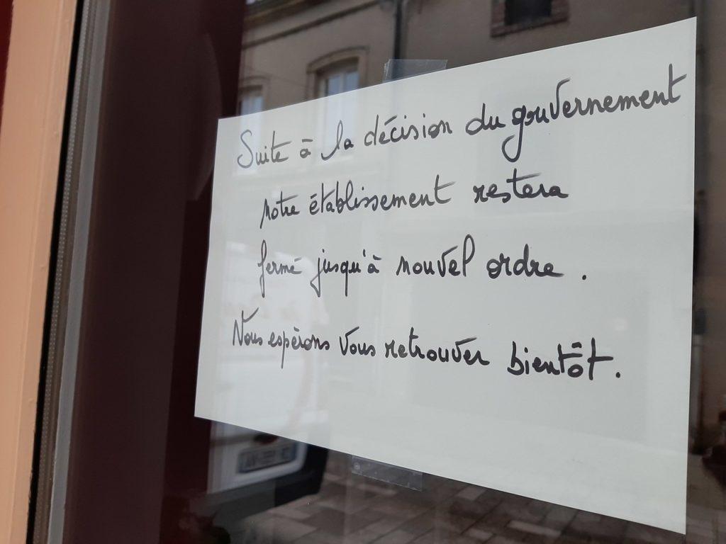 De nombreux commerçants ont dû fermer boutique