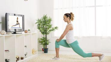 Le fitness se prête très bien au cours collectif en ligne