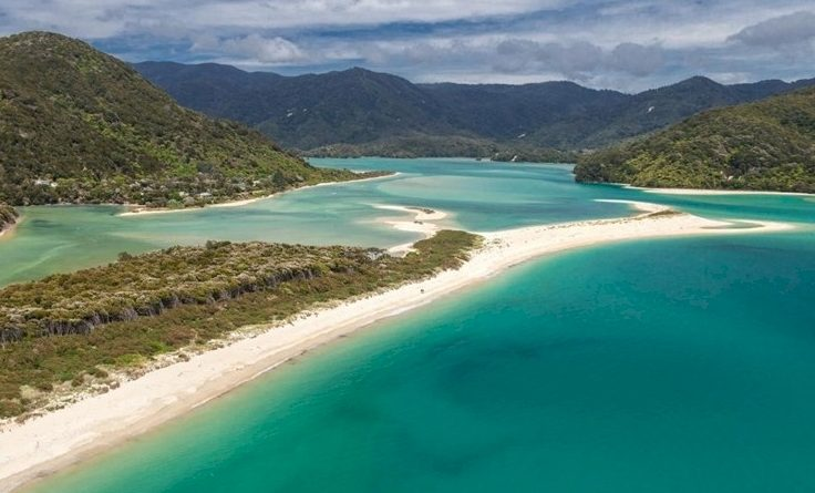 La plage d'Abel Tasman