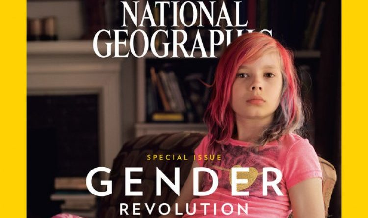 La une du National Geographic