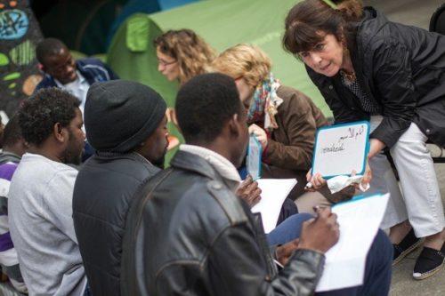 Les cours de Français sont d'une grande aide pour les migrants dans leur quotidiens