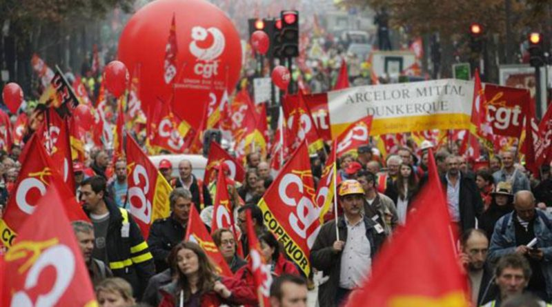 Aide aux salariés en grève à avoir un revenu