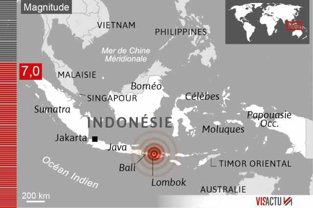 tremblement de terre de lombok collecte de dons