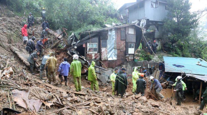 Les glissements de terrain ont fait de nombreuses victimes