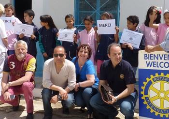 Partout en France, des Rotary Club œuvrent à destination des plus pauvres
